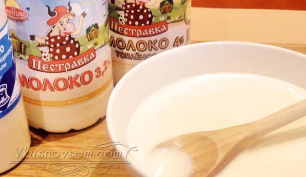 Три молока рецепт фото